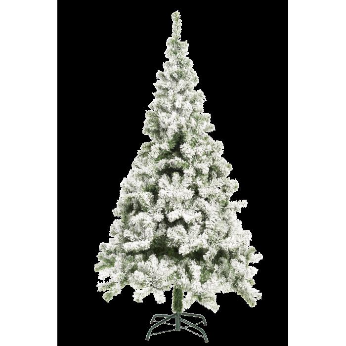 """185 см Искусственная ель """"Санкт-Мориц"""" с имитацией снега для новогоднего украшения"""