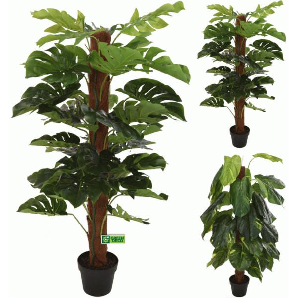 Искусств.растение в пласт.горшке (120 см, асс/2), пластик