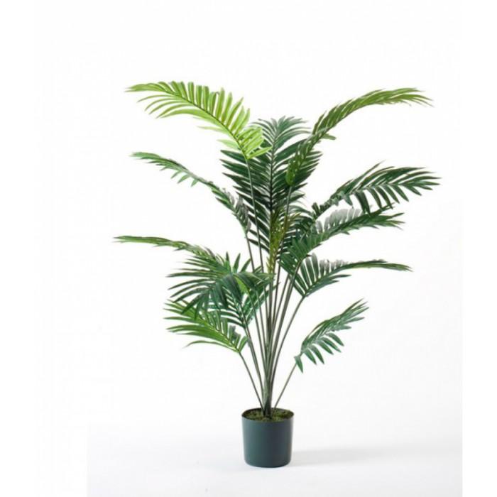 """Искусственное растение """"Пальма"""" в горшке, пластик, 150 см, цвет зеленый"""