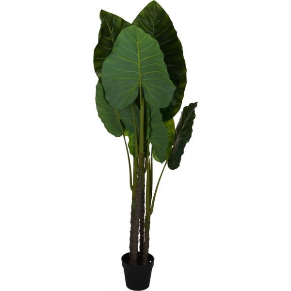 Искусственное растение в горшке 155 см, пластик