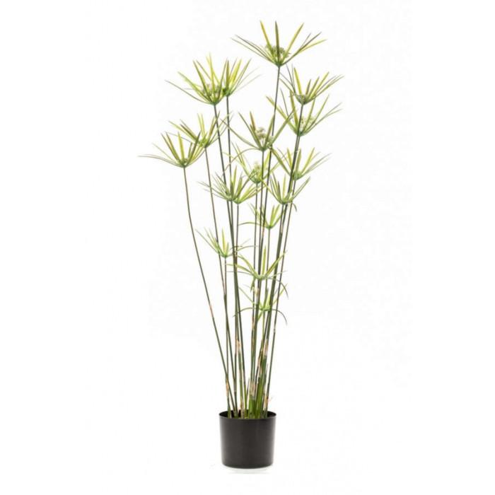 Искусственное растение Сыть в горшке, 120 см