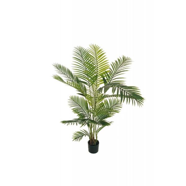 """Искусственное растение """"Пальма Арека"""" в горшке, пластик, 160 см, цвет зеленый"""