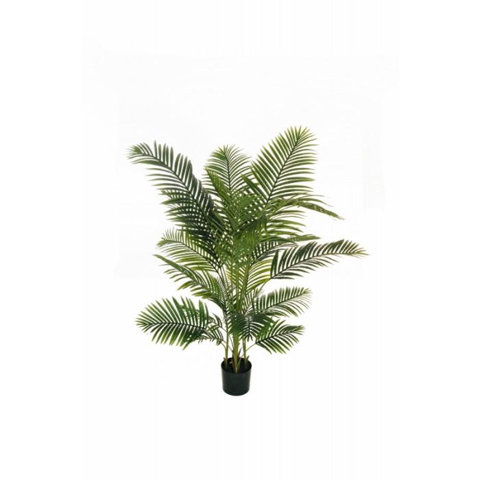 """Искусственное растение """"Пальма Арека"""" в горшке, пластик, 170 см, цвет зеленый"""
