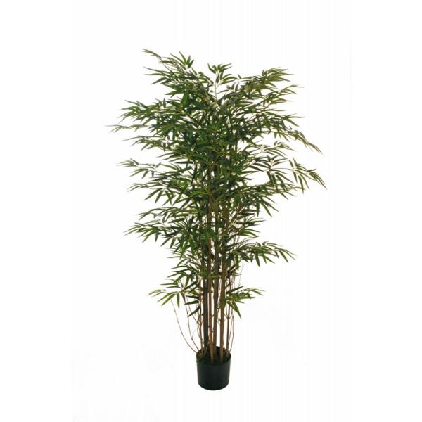 """Искусственное растение """"Бамбук"""" в горшке, 150 см, пластик, цвет зеленый"""