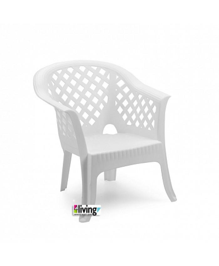 Составной стул Lario Bianco для улицы и сада