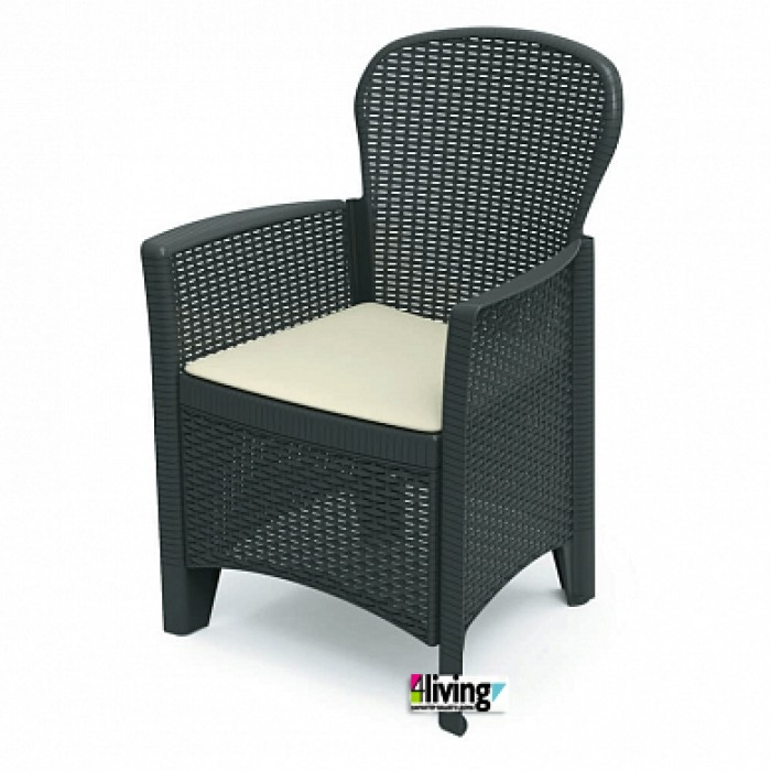 Кресло Folia для улицы и сада FOL25CCA