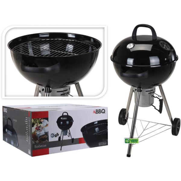 Печь для приготовления пищи на открытом воздухе с колесами и решеткой