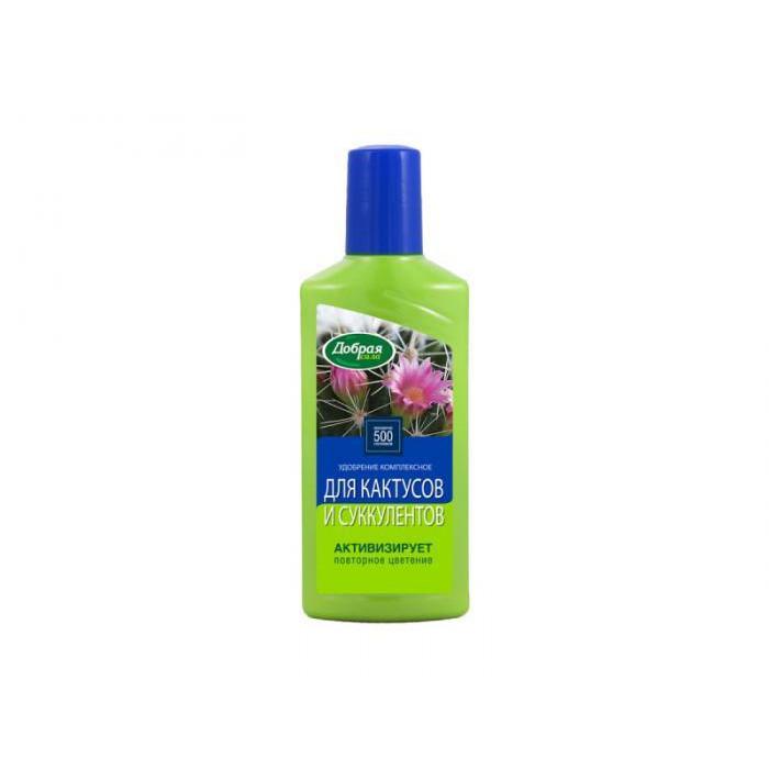 Добрая Сила Удобрение для кактусов и суккулентов 250мл DS21010191