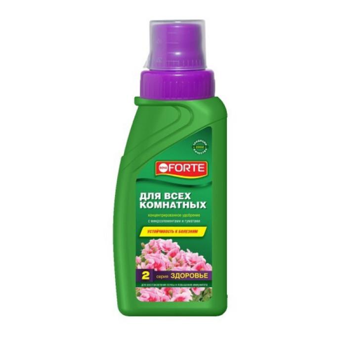 Bona Forte удобрение серии ЗДОРОВЬЕ универcальное для всех комнатных растений  285мл