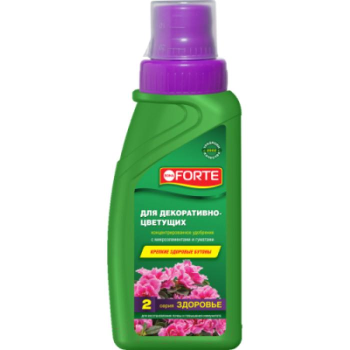 Bona Forte удобрение серии ЗДОРОВЬЕ  для декор.-цветущих растений  285мл
