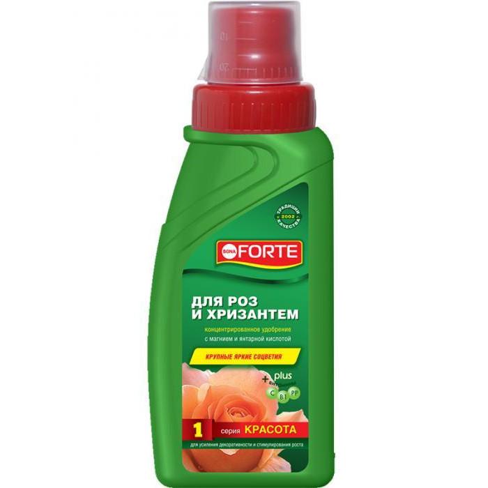 BF Bona Forte Жидкое компл удобрение для всех сортов роз и хризантем 285мл