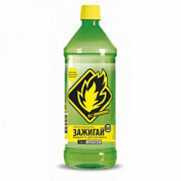 ЗАЖИГАЙ-КА Жидкость для розжига 0,5 л.