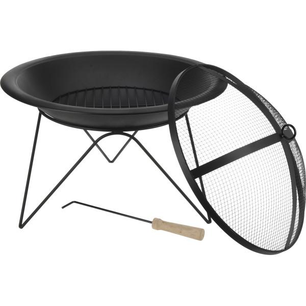 Печь для приготовления барбекю Black cooker, диаметр 51 см