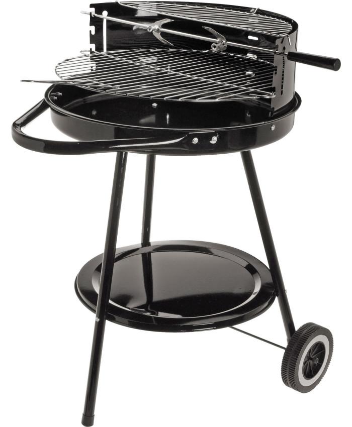 Печь для приготовления барбекю Black grill, диаметр 43 см