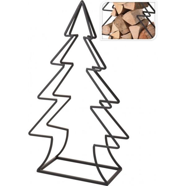 Декоративная стойка (дровница)