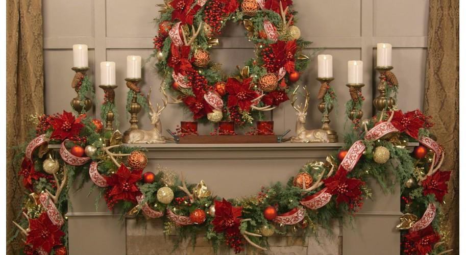 Рождественские венки: традиции, история.