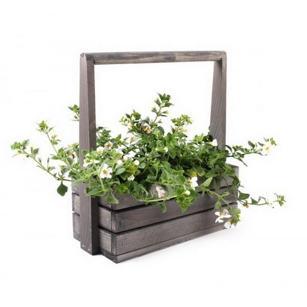 Ящик-кашпо для цветов Buttercup Grey