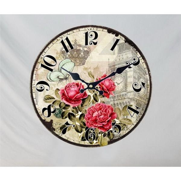 Настенные часы London Rose