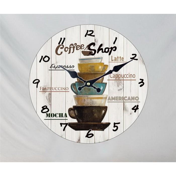 Настенные часы Coffee Shop