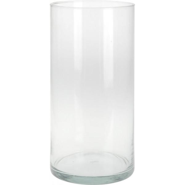 Декоративная ваза из стекла