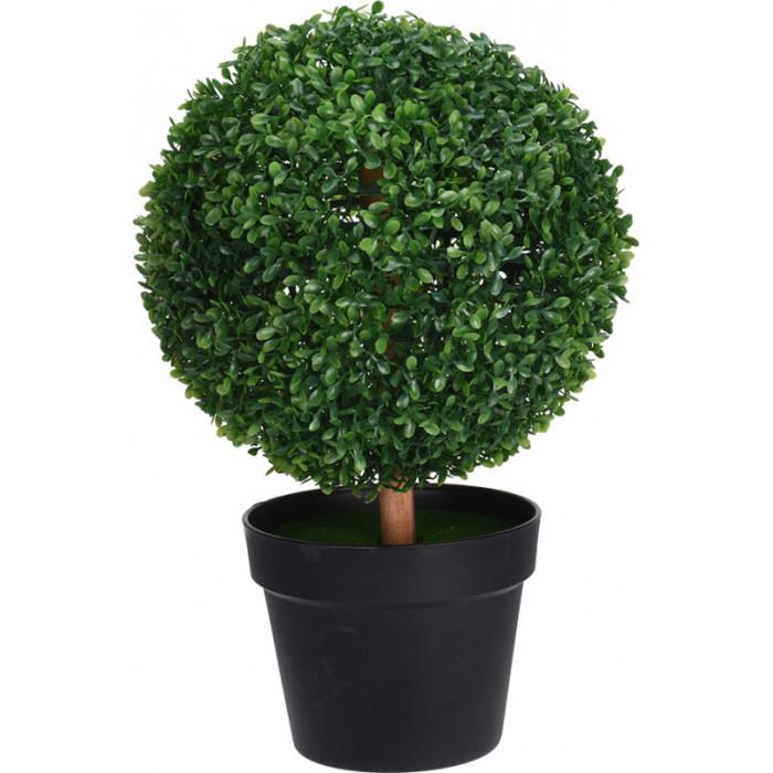"""Искусственное дерево """"Самшит"""" в горшке"""