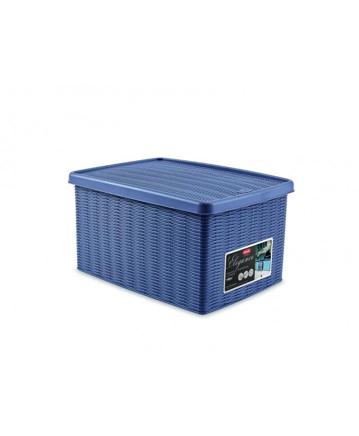 Многофункциональная корзина для хранения из пластика средняя
