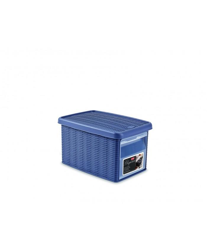 Многофункциональная корзина для хранения из пластика с фронтальным доступом маленькая