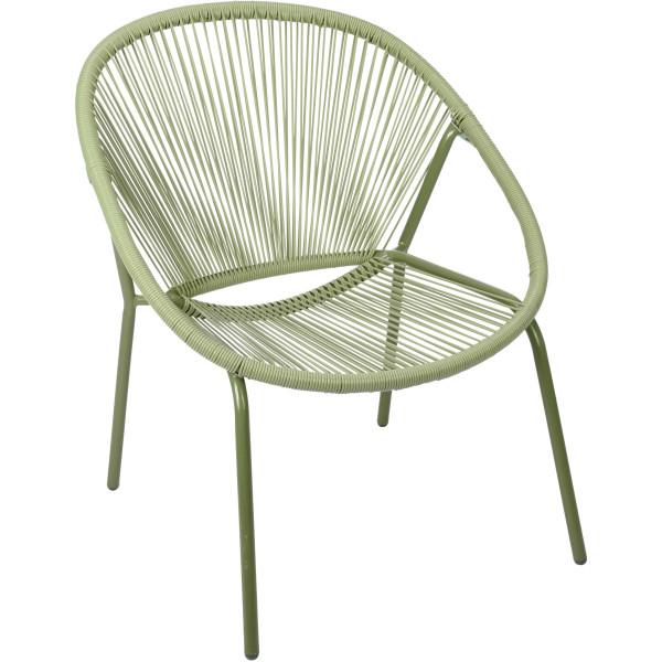 Садовое кресло Metal Vase Green
