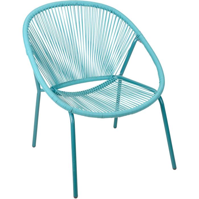Садовое кресло Metal Vase Blue