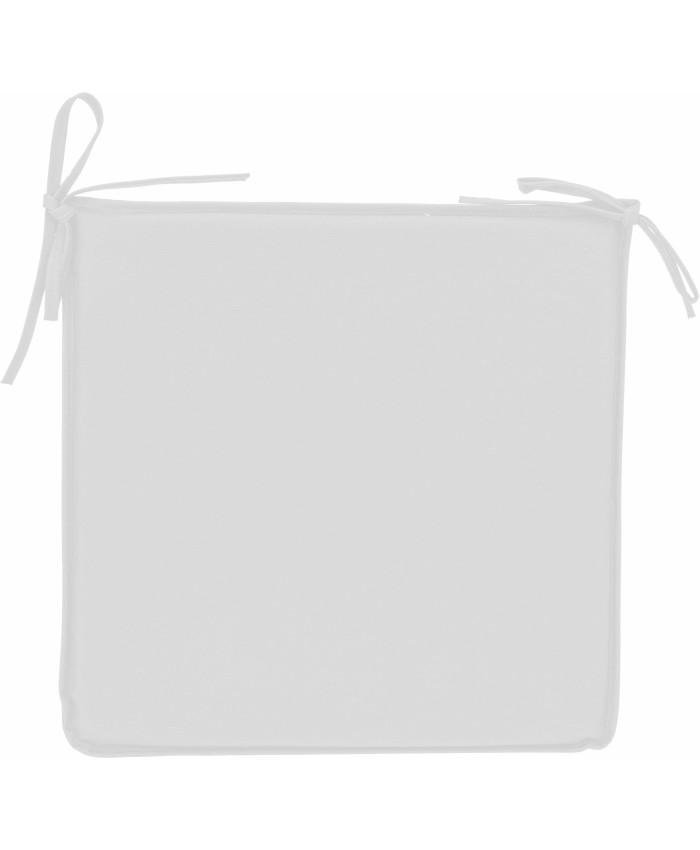 Подушка для стула из ткани cushion white