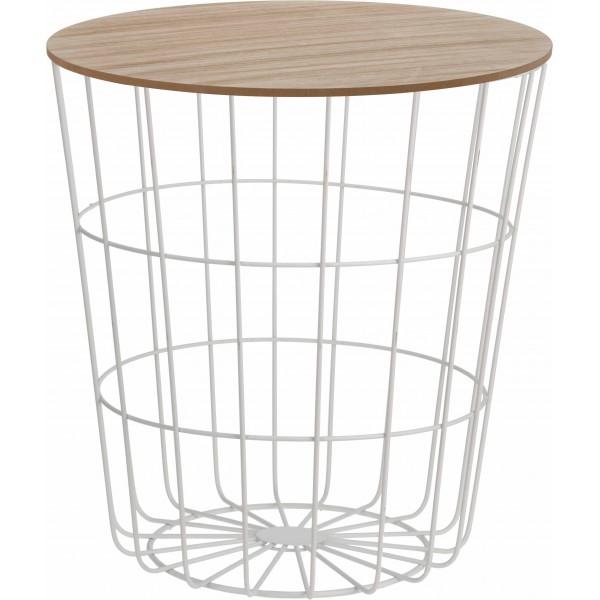 Декоративный круглый столик Wood Cell