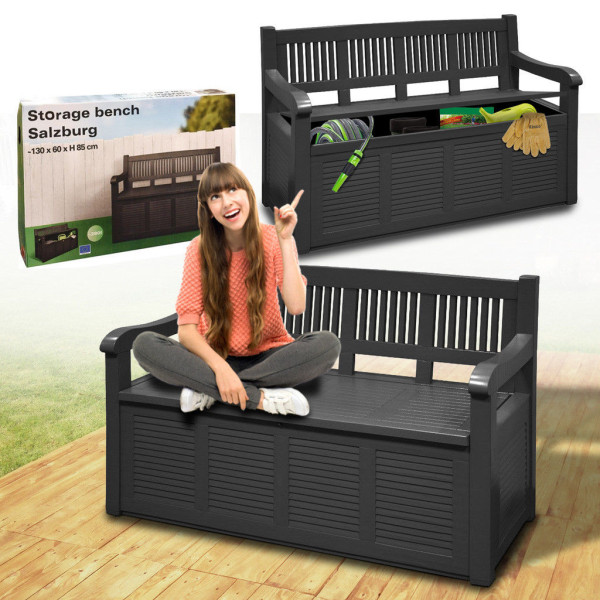Сундук-скамья для сада