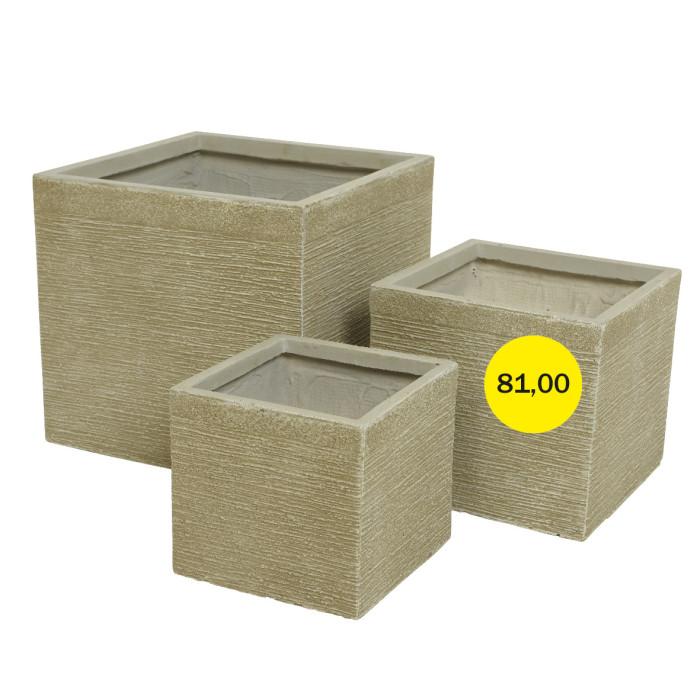 Горшок для цветов Средний Sandy Cube