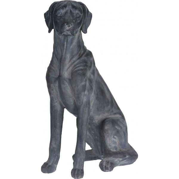 Собака статуэтка декоративная из керамики