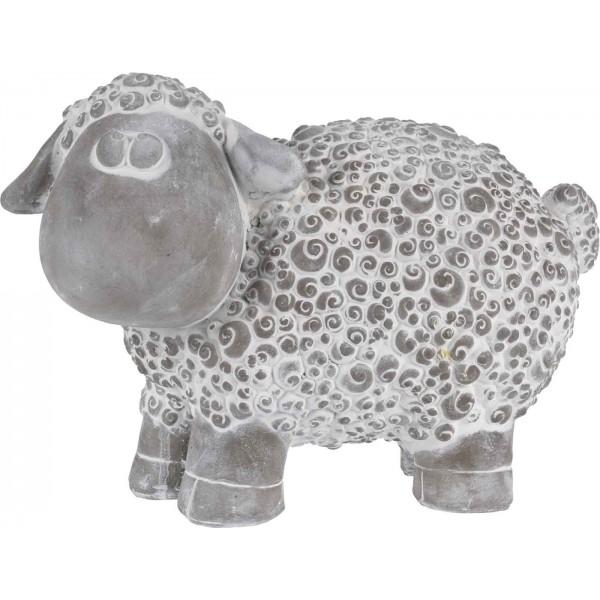 Овечка статуэтка декоративная из керамики