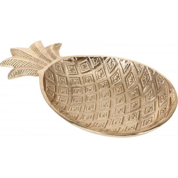 Блюдо алюминиевое Golden Pineapple