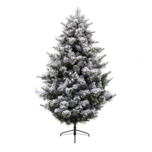 """180 см. Искусственная ель """"Fluffy Tree"""" из пластика с имитацией снега"""