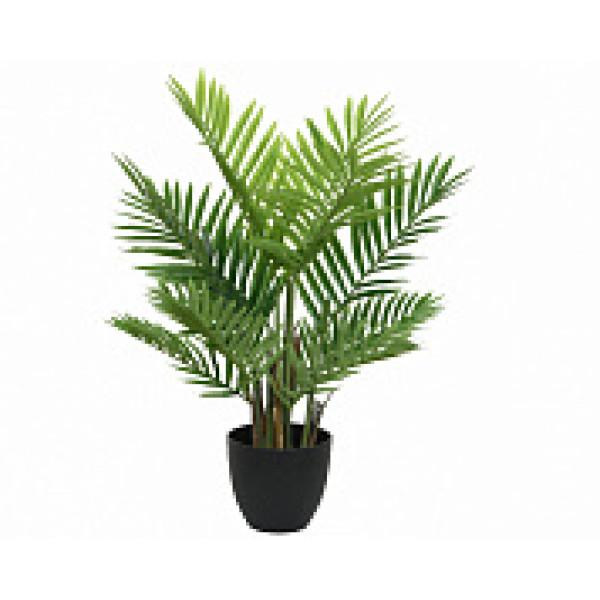 """Искусств.растение """"Пальма"""" в горшке, д.61х73 см, пластик, зеленый"""
