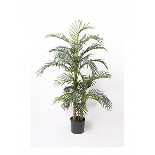 """Искусств.растение """"Пальма Арека"""", пластик, 130 см в горшке  из пластика"""