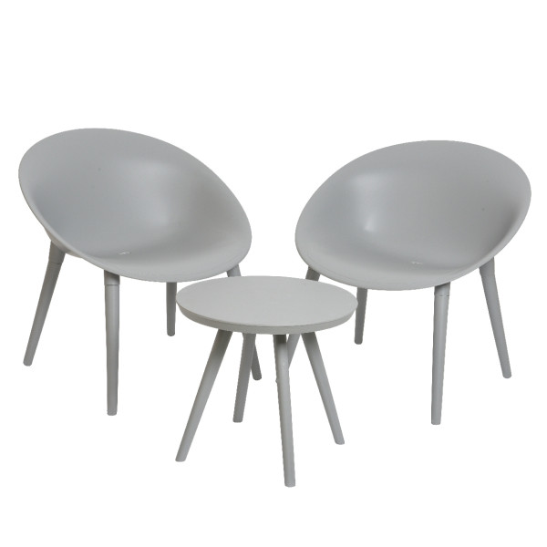Набор мебели для улицы и сада Marbella Light gray