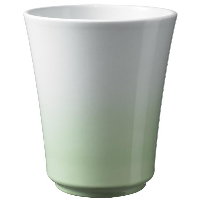 Керамический горшок глянцевый Atlanta Pastel Soft Green