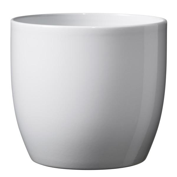 Керамический горшок Basel Full White
