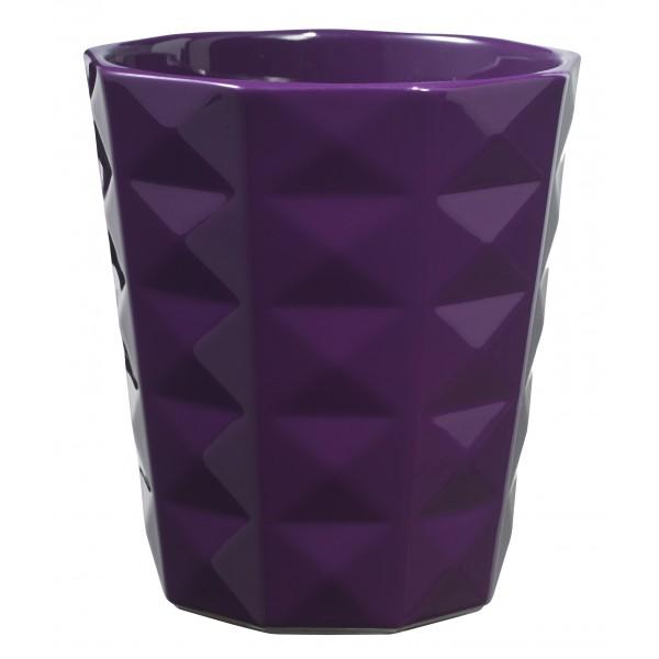 Керамический горшок глянцевый Kyoto Violet ø13