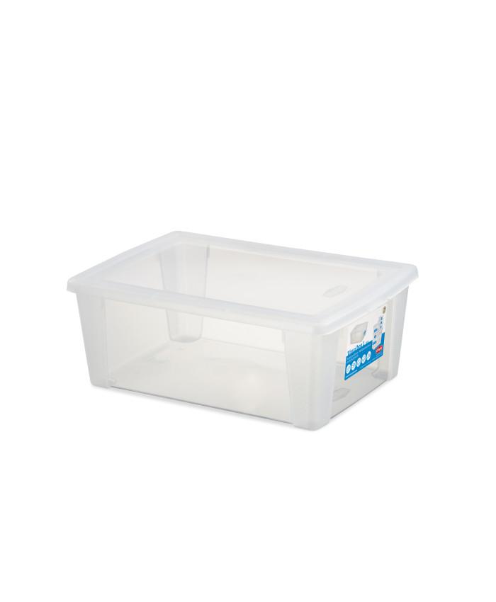 Многофункциональный контейнер для хранения с крышкой Scatola Visual Box L