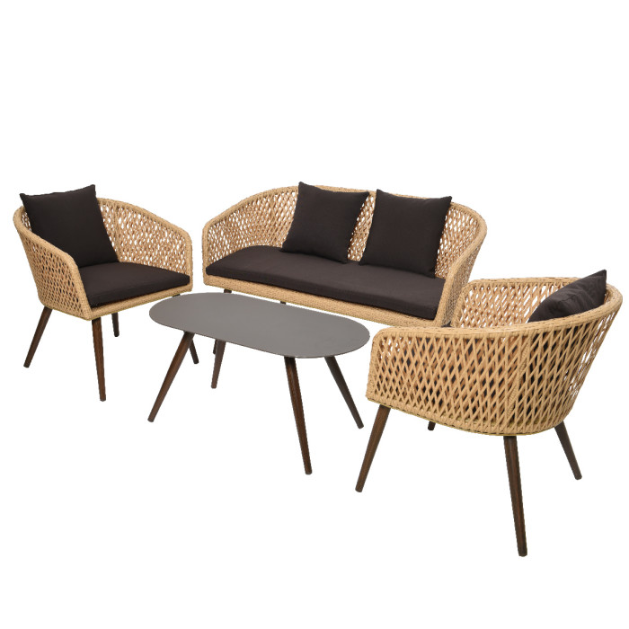 Набор садовой мебели Palermo Beige
