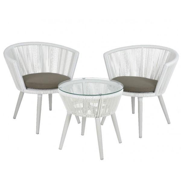 Набор садовой мебели Copenhagen White