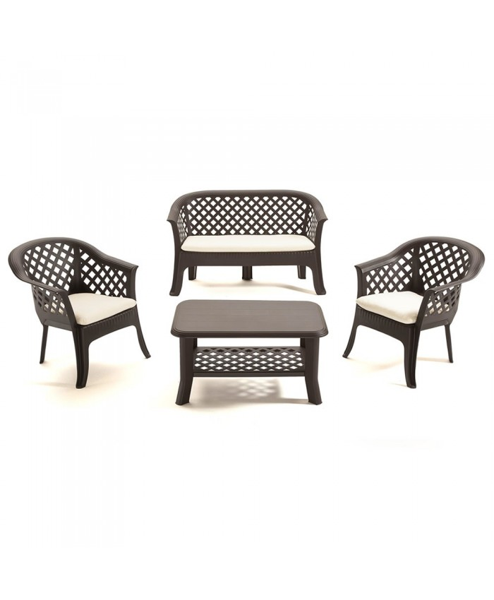 Набор мебели для сада Veranda Set Antracite