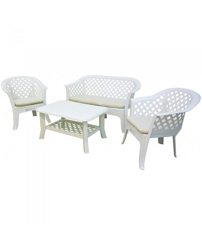 Набор мебели для сада Veranda Set Bianco