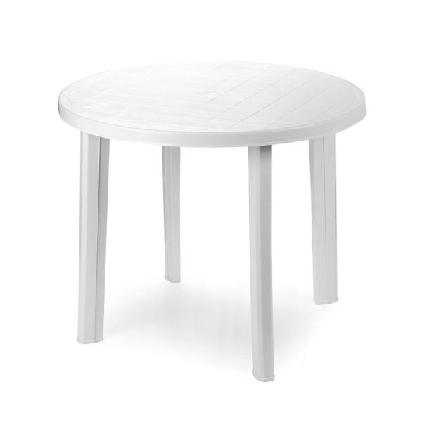 Стол пластиковый TONDO Bianco