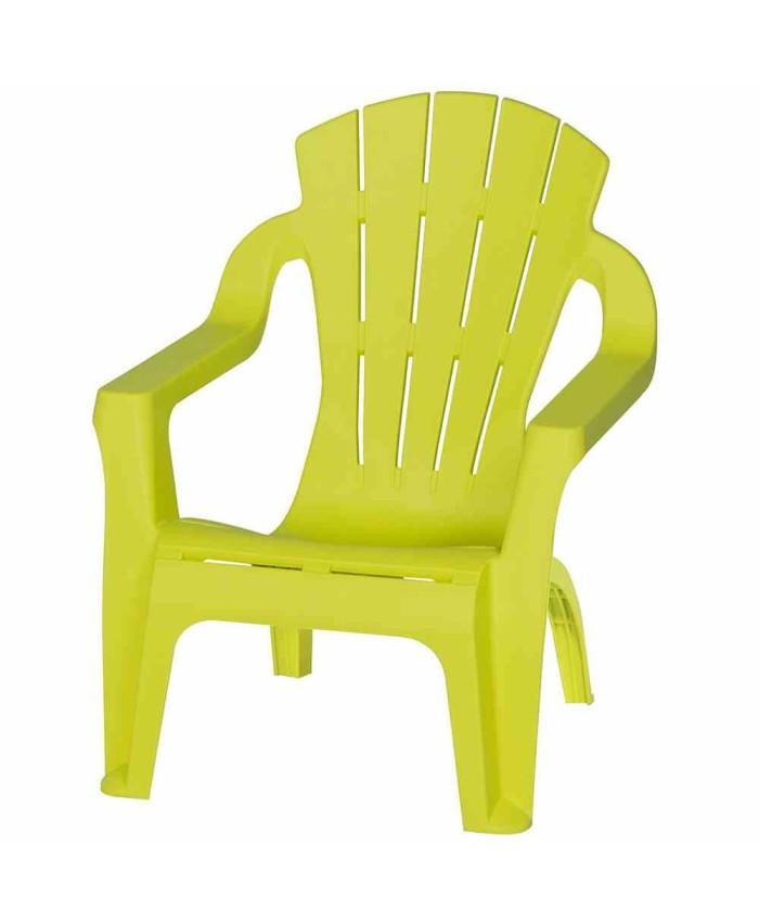 Моноблочный детский стул Selva mini Lime